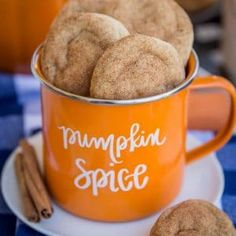 From Pumpkin cheesecake to Pumpkin Bars to Pumpkin cookies, here is a list of the best Pumpkin Desserts recipes. These are the best fall desserts recipes. Delicious Cookie Recipes, Healthy Recipes, Yummy Cookies, Baking Recipes, Yummy Food, Dessert Recipes, Baking Cookies, Peeps Recipes, Cookies Vegan