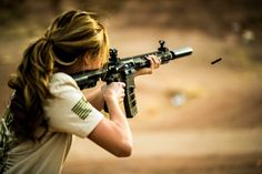 theigmilitia: Olympic shooter recently met up with and to get hands on with the series of rifles. Head over to see her thoughts on the rifle.