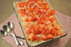 aardbeien-frambozen tiramisu - simpel en volgens de recensies erg lekker