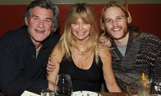 Kurt Russell and Goldie Hawn's handsome son Wyatt bears striking resemblance to his famous parents as they dine out at Sundance Goldie Hawn Son, Goldie Hawn Kurt Russell, Celebrity Couples, Celebrity News, Oliver Hudson, Kate Hudson, Never Getting Married, Sundance Film Festival, Famous Couples