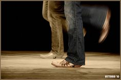 I country swing, line dance, and two-step like it's my job! <3