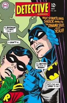 Back when DC was Detective Comics; #380. The poppy blues and cheesy lines will not be missed but always respected.