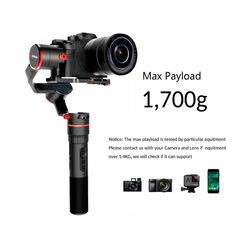 FeiyuTech Feiyu 3 Axis Handled Gimbal Stabilizer for Sony GoPro Hero Gimbal for Mirrorless DSLR 18 Dslr Or Mirrorless, Gopro Hero 5, Photography Gear, Stability, Sony, Handle, Graphic Design, Accessories