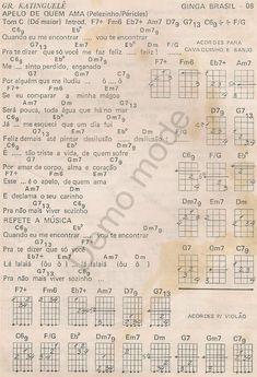 ginga brasil 55 Sheet Music, Board, Top, Tambourine, Music Instruments, Group, Lyrics, Plants, Music Sheets