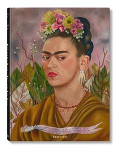 A new book Frida Kahlo: The Complete Paintings includes previously unseen or overlooked works by the artist (Credit: Taschen) Diego Rivera, Martin Munkacsi, Edward Weston, Kandinsky, Nickolas Muray, Kahlo Paintings, Colossal Art, Mexican Artists, Painted Books