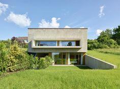 Haus in der Schweiz von GD architectes / Avantgarde und Gemütlichkeit - Architektur und Architekten - News / Meldungen / Nachrichten - BauNetz.de