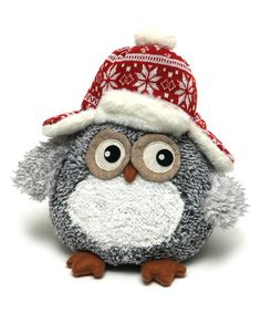 This Owl in Hat Figurine is perfect! #zulilyfinds