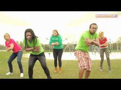 Dansinstructie Campingvriendjes - YouTube