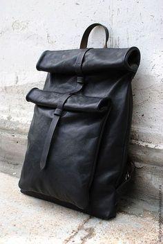 Рюкзаки ручной работы. Ярмарка Мастеров - ручная работа Рюкзак  прямоугольный. Handmade. Кожаные Сумки 1cbaf6cad1c