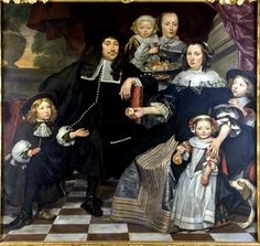 Hendrik ten Oever, Unknown Family, 1669, Stedelijk Museum Zwolle