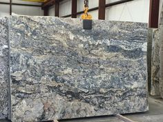 Azurite granite slab 5759 from SLABCO Marble & Granite, Travelers Rest, South Carolina.