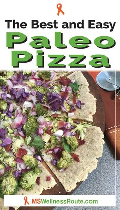 The best pizza ever! This pizza is Paleo and AIP diet compliant. The oregano cassava flour crust brings an Italian flavor which is delicious! You won't even miss the cheese. Paleo Pizza Crust, Diet Pizza, Aip Diet, Candida Diet, Healthy Eating Tips, Healthy Foods To Eat, Pizza Recipes, Paleo Recipes, Cassava Flour Recipes