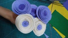 Felt flowers by me, see how I made it on this link http://klovecrafts.blogspot.com/2016/03/huong-dan-lam-hoa-vai-da-phan-1.html