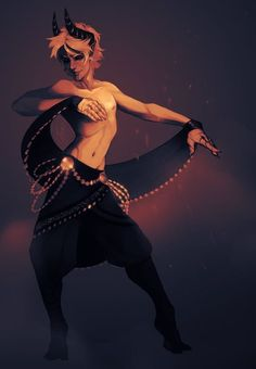 Dance in the ashes by LiLaiRa.deviantart.com on @DeviantArt: