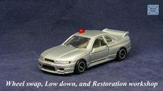 TOMICA 085C NISSAN SKYLINE GTR R33 #WHEELSWAP #LOWDOWN | v.17 | TOMY 2G Nissan Skyline Gtr R33, Old Models, Diecast, Auction, Silver, Tomy, Money