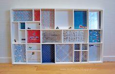 Settekasse til barnerommet fra Søstrene Grene dekoret på en kreativ måte. Sånn ønsker jeg meg til Endre!