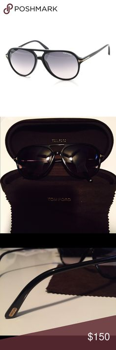 AUTHENTIC Tom Ford Men's Sunglasses Gorgeous like new TOM FORD men's sunglasses. Designer style, color black and go well with everything. Tom Ford Accessories Sunglasses