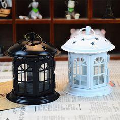 Decorative Moroccan Lantern Votive Candle Holder Hanging Lantern Vintage Candlesticks Home Decoration Metal Hanging Candlesticks