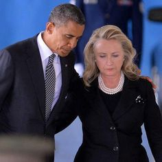President Barack Obama and Secretary of State Hillary Rodham Clinton attend the transfer of remains ceremony at Joint Base Andrews Friday. Black Presidents, Greatest Presidents, American Presidents, American History, First Black President, Mr President, Michelle Obama, Joe Biden, Durham
