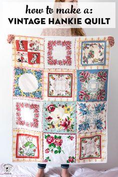 Free Sewing Patterns & Tutorials - the Polka Dot Chair Quilt Design Wall, Handkerchief Crafts, Polka Dot Chair, Quilt Batting, Sewing Hacks, Sewing Tips, Sewing Tutorials, Quilt Tutorials, Sewing Crafts