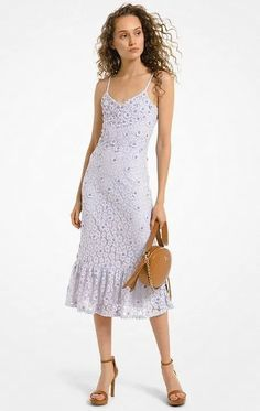 Purple Corded Lace Ruffle-Hem Sleeveless Summer Cocktail Dress. Light Purple Knee-Length Bead-and-Sequin Lace Ruffle Hem Summer Dress.     #Fashion  #OOTD  #Style  #LookBook  #OutfitOfTheDay #LookOfTheDay #Fashionista #FashionStylist #StreetStyle #Stylish  #WomensFashion #FashionStyle Red Lace Cocktail Dress, Cocktail Dresses With Sleeves, Lace Dress With Sleeves, Plus Size Lace Dress, Floral Lace Dress, Lace Ruffle, Lace Dresses, Long Midi Dress, Designer Evening Dresses