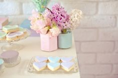 Pastel Valentines Day Party Decorations