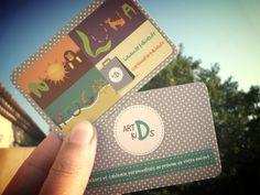 Mes cartes de visite pour accompagner les commandes sur www.artdkids.fr
