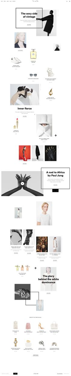 I decided to select beautiful images and created this concept of an e-commerce platform designed for people passionate about minimalist fashion.