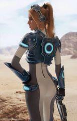 Nova from Starcraft  Cosplayer: Karina  Photographer: Makar Vinogradov
