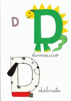 ¿Qué puedo hacer hoy?: Abecedario de animales Alphabet Letter Crafts, Abc Crafts, Alphabet Writing, Alphabet Book, Preschool Activities, Spanish Alphabet, Alphabet For Toddlers, Letters For Kids, Preschool Letters