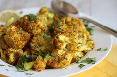 """Cauliflower -- a vegetableoften adored in itsriced form. Sometimes, though, this girl's brain breaksat the thought of tediously standing overthe food processor, mindlessly pushing florets through the shredder blade. And thoselittle """"grains"""" of riced cauli? They get freaking EV-ER-Ywhere. (Note:…"""