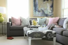 Tradition with a Twist Home Tour  Read more - http://www.stylemepretty.com/living/2014/02/24/traditional-home-tour/