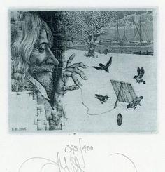 Ex libris by Konstantin Kalinovich