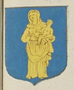 La Communauté des Religieux de l'Abbaye de Villeloing ordre de S.t Benoist. Porte : d'azur, à une Notre Dame d'or | N° 100 > Loches