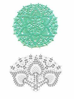SINGLE POINT: Crochet circles
