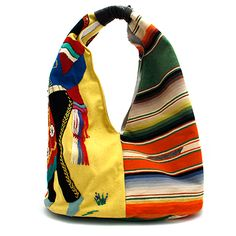 Totem Salvaged Vintage Jacket and Serape Handbag at Maverick Western Wear 348523774cd