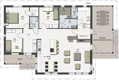 Future House, House Plans, Floor Plans, How To Plan, Building, Interior, Koti, Decoration, Layouts