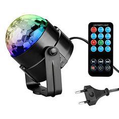 LED Crystal Magische Bal 3 W Mini RGB Podium Verlichting Effect Lamp ...