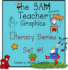 Awesome clip art FREE (till midnight, March from the teacher - Kevin Henkes themed. Kevin Henkes Books, Classroom Clipart, Teaching Resources, Literacy, Back To School, Teacher, Clip Art, Graphic Design, Reading