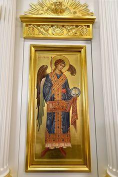 Дьяконские двери (фрагмент) Acanthus, Heaven, Icons, Painting, Furniture, Home Decor, Art, Art Background, Sky