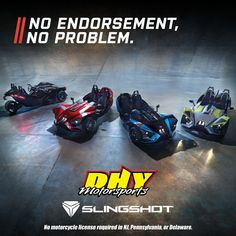 are that do not require a motorcycle license in NJ, PA, and DE. Come check one out at your Polaris Slingshot, Motorcycle License, Free Personals, Golf Bags, Cars, Twitter, Check, Autos, Automobile