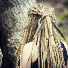 Dreadlock Hairstyles, Messy Hairstyles, Dreads Girl, Blonde Dreadlocks, White Dreads, Dreadlock Rasta, Beautiful Dreadlocks, Dreads Styles, Synthetic Dreads