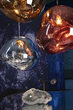 D Design Blog | daily inspiration at droikaengelen.com - Suspensions Melt, Tom Dixon. Salon de Milan 2015