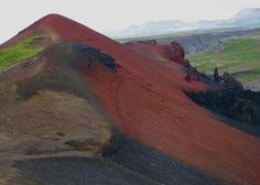 Raudholar (Red Hills), Jokulsargljufur National Park, Iceland / Islande