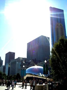 A picture I took when I was in Chicago.