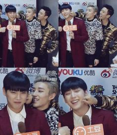 Himchan, Jongup. & Yongguk