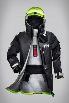"""HELLY HANSEN* """"The Aegir Ocean"""" Jacket For Professional Ocean Racers, A Sailing Jacket That Offers Seasoned Sailors And Racers Maximum Protection From The Elements"""