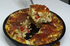 Kids Meals, Easy Meals, Omelet, Greek Recipes, Cake Cookies, Food For Thought, Quiche, Spicy, Food And Drink