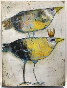 Jacqui Fehl - I Got You Mixed media on cradled wood panel Art Du Collage, Collage Art Mixed Media, Mixed Media Painting, Collage Collage, Surreal Collage, Painting Collage, Art Sur Toile, Ouvrages D'art, Encaustic Painting