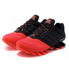 Adidas Springblade Drive 2.0 Black Red Shoes Adidas Nmd, Adidas Sneakers, Red Shoes, Black, Fashion, Red Dress Shoes, Moda, Black People, Fashion Styles